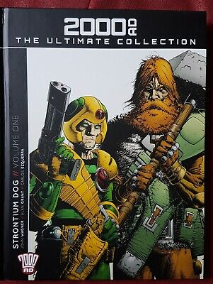 2000AD The Ultimate Collection - Issue 7 - STRONTIUM DOG VOL 1. Ezquerra