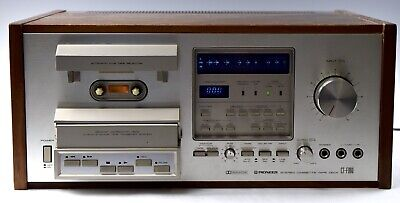 Vintage Pioneer CT-F900 Cassette Deck - FREE US Shipping - For Parts / Repair