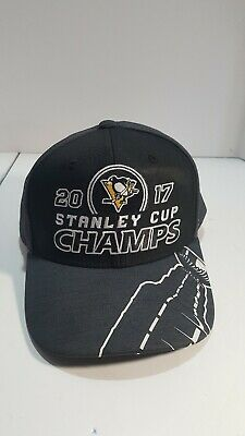 7b600cb88 Pittsburgh Penguins Reebok 2017 Stanley Cup Champs Locker Room Snapback Hat  Cap