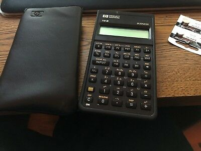 HP 10B Business Finantial Scientific Calculator Hewlett Packard