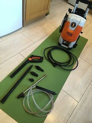 sthil re118 pressure washer Jet Wash & Sandblaster Attachment in good condition