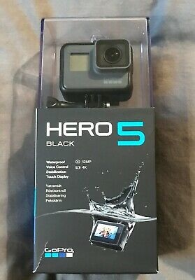 GoPro HERO5 4K HD Waterproof Action Camera - Black - Boxed - Great Condition