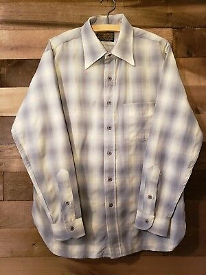 Mens Vintage Sir Pendleton Shirt size medium