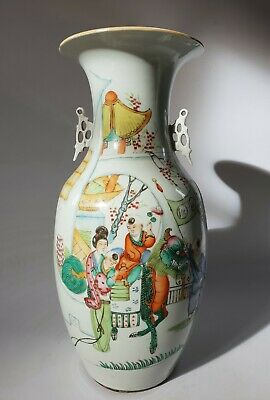 Grand vase chinois ancien - Old chinese porcelain -  花瓶   嘲弄前 装饰装修