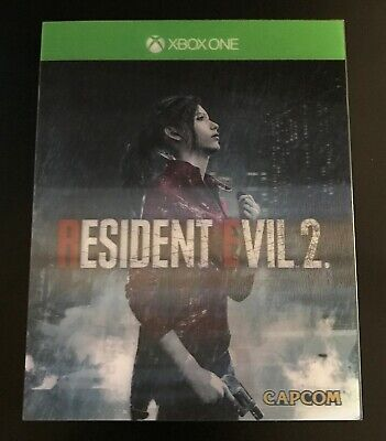 Resident Evil 2 Remake - Xbox One - Mint Condition - Special Edition Cover