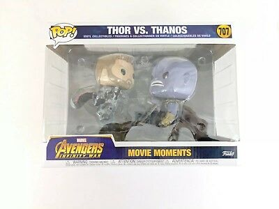 New Funko Pop Marvel Avengers Infinity War THOR VS THANOS Movie Moments # 707