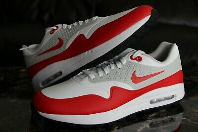 competitive price 46818 b824c Nike Air Max 1 University Red Golf Shoes Rare G AQ0863-100 OG Red Size