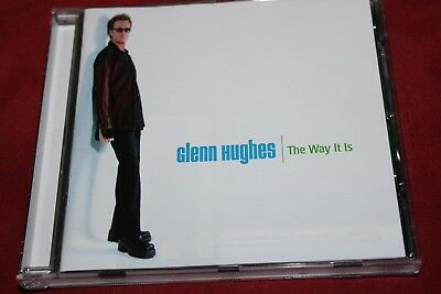 GLENN HUGHES - THE WAY IT IS - CD TOP - Black Country Communion, Deep Purple,AOR