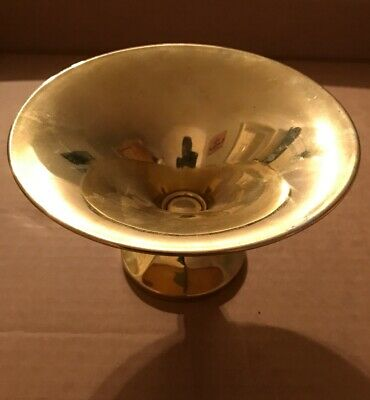 SILVER GILT TAZZA BOWL BELGIUM HALLMARKS Royal Connection ?