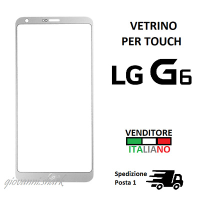 Front outer GLASS for LG G6 Mystic White H870/H871/2/US997 display screen TOUCH