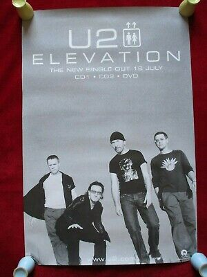 Original U2 Elevation All That You Can't Leave Behind Advertising Shop Poster