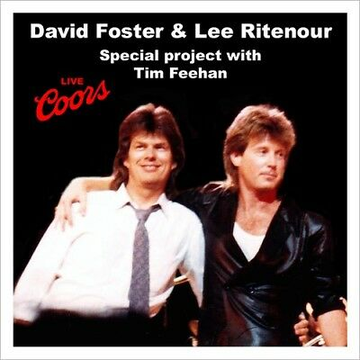 DAVID FOSTER @LIVE 87 CD w/Tim Feehan+Lee Ritenour+Vinnie Colaiuta WESTCOAST/AOR
