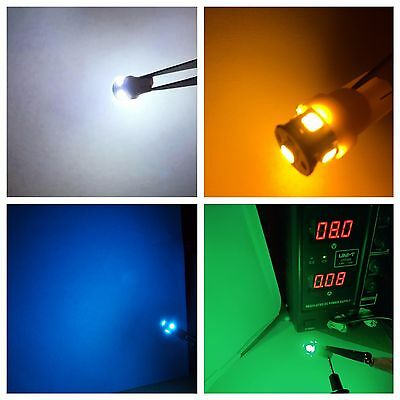 (10)8V-LED METER LAMPs/VU AMPLIFIER / M-500,M-500T & MK II/SEE COLOR CHOICES !
