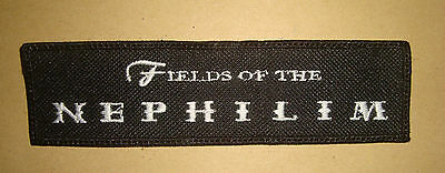 FIELDS OF THE NEPHILIM - LOGO Embroidered PATCH The Sisters of Mercy Mission