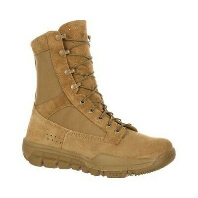 Rocky Men's   Lightweight Commercial Military Boot RKC042 Coyote Brown