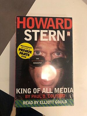 Howard Stern : King of All Media by Paul D. Colford/cassette/new/sealed/gould