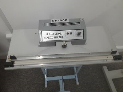 Foot Pedal operated Impulse Sealer 600mm 24""