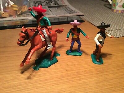 3 Timpo Mexican's, 1 on horseback.