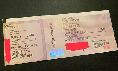 Place Cats on Trees en fosse à l'Olympia