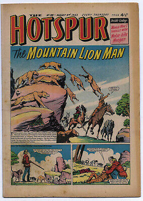 The Hotspur 198 (August 3 1963) high grade copy