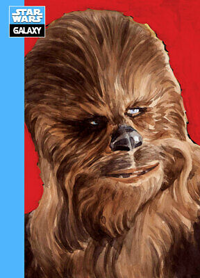 Topps Star Wars Card Trader Galaxy Selects Series 2 Wave 2 BLUE Chewbacca