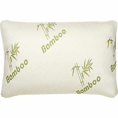 New Soft Bamboo Memory Foam Pillow Breathable Hypoallergenic And Antibacterial