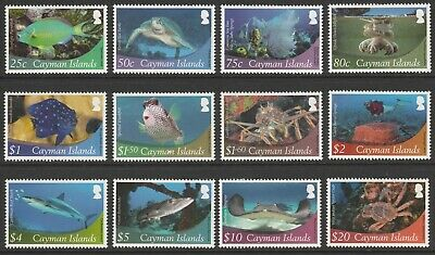 Cayman Is -  2012 Marine Life Definitive Issue Sg 1284/95 Mnh Set Cat Val £95+