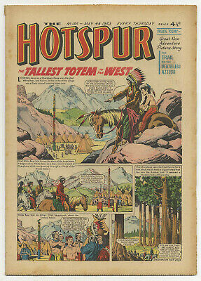 The Hotspur 185 (May 4 1963) high grade copy