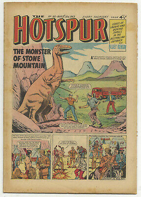 The Hotspur 180 (March 30 1963) high grade copy