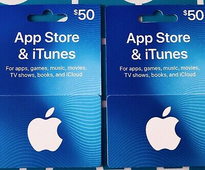 $50 App Store & iTunes Gift Card - Qty. of ONE
