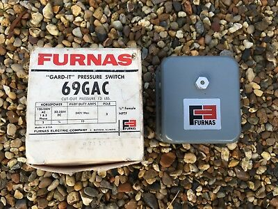 Furnas 69Ga6 Pressure Switch 2 Pole - Bnib