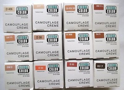 Dermacolor Camouflage Cremes  - 30G -  Various - Kryolan Professional Make-Up