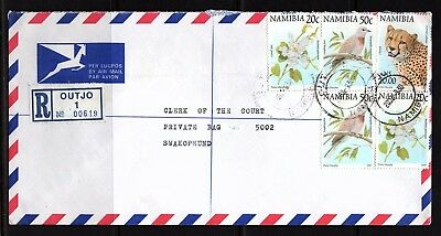 Namibia Cover - Outjo 1 R - 30.09.2002 - an Clerk of the Court Swakopmund