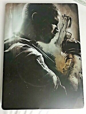 Call of Duty Black Ops 2 X Box 360 HARDENED ED~Steel Case Tested 2012
