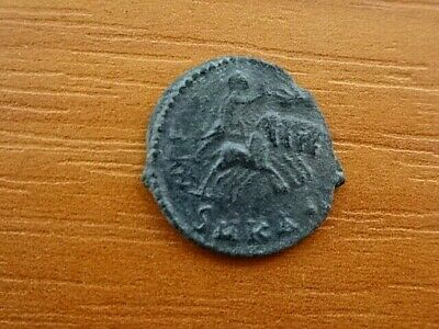 "Divus Constantine the Great AE Follis ""Quadriga, Hand of God"" Ancient Roman Coin"