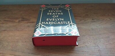 The Seven Deaths of Evelyn Hardcastle  - 1st Signed & Numbered - plus bookmark