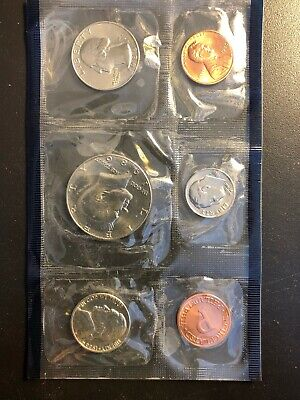 1986 P & D US Mint Uncirculated Coin Set in OGP Envelope FREE SHIP NO RESERVE