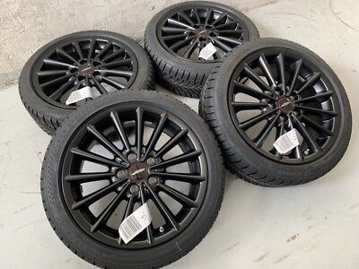 Original MINI F55 F56 F57 17 Zoll Alufelgen Multi Spoke 505 Winterräder Black