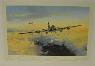 HELPING HAND by Robert Taylor - Signed by original 8 PLUS 6 other Pilots/Aces