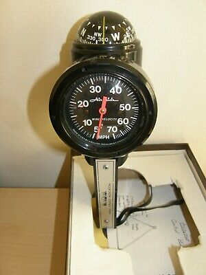 Airguide Windial Air Speed Indicator Hand Held with Compass Anemometer