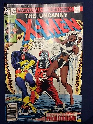 """Uncanny X-Men #124 August 1979 """"the Power-Mad Proletarian"""""""
