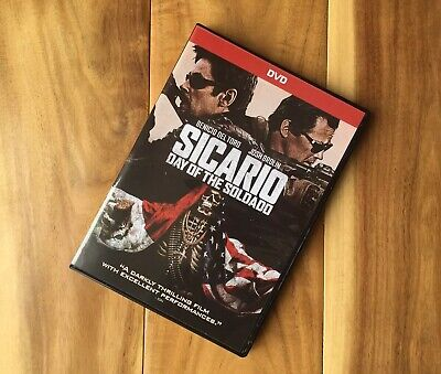 Sicario: Day of the Soldado (DVD, 2018) Viewed Once Excellent Condition