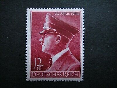 Germany Nazi 1942 STAMP MINT Adolf Hitler Third Reich Deutschland German To comm
