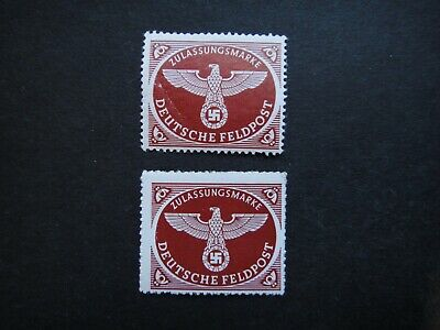 Germany Nazi 1942 Stamp MNH Emblem Third Reich Swastika Eagle German