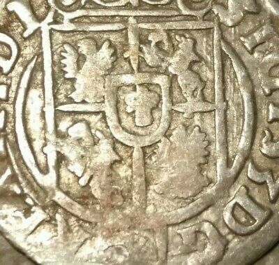 The 1620s SILVER Coin Ancient Pirate Shipwreck Treasure Chest Era Old Vintage US