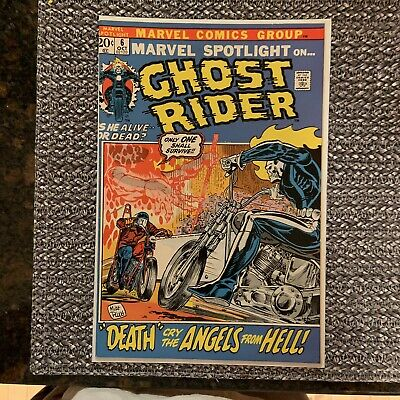 MARVEL SPOTLIGHT #6, 1972: 2nd GHOST RIDER Appearance -Mike Ploog Cover