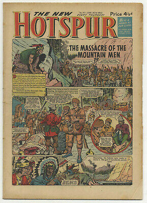 The Hotspur 141 (June 30 1962) high grade copy