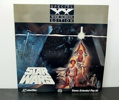 Star Wars LaserDisc 2-Disc Widescreen Extended