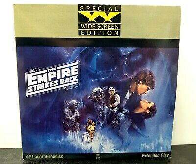 Star Wars: The Empire Strikes Back LaserDisc 2-Disc Widescreen Extended