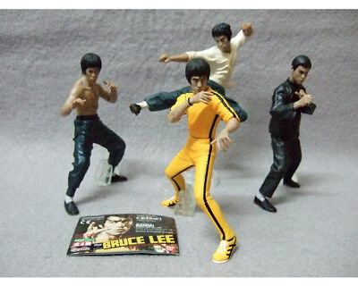 4 Figurines Bruce Lee Kung Fu Collection en PVC Jouets D'enfants